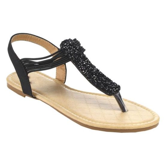 40 Glam Flat Sandals for Summer Ideas 21