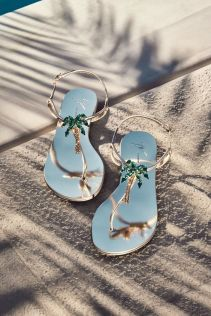 40 Glam Flat Sandals for Summer Ideas 25