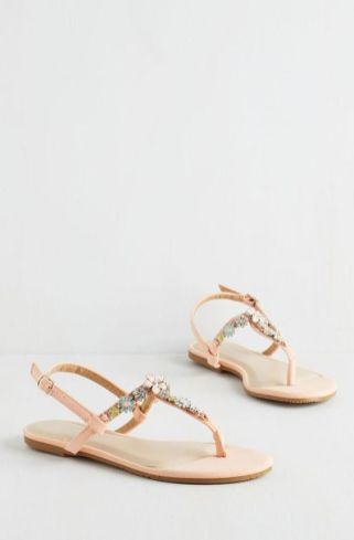 40 Glam Flat Sandals for Summer Ideas 3