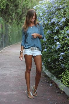 40 Hot pants Outfits for Perfect Summer Ideas 1
