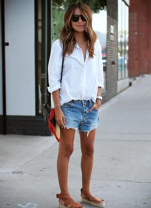 40 Hot pants Outfits for Perfect Summer Ideas 13