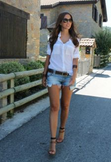 40 Hot pants Outfits for Perfect Summer Ideas 14