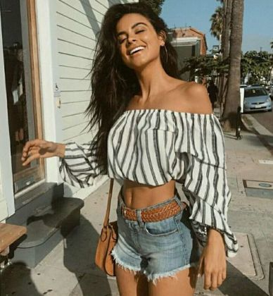 40 Hot pants Outfits for Perfect Summer Ideas 18
