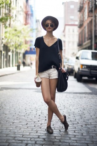 40 Hot pants Outfits for Perfect Summer Ideas 32