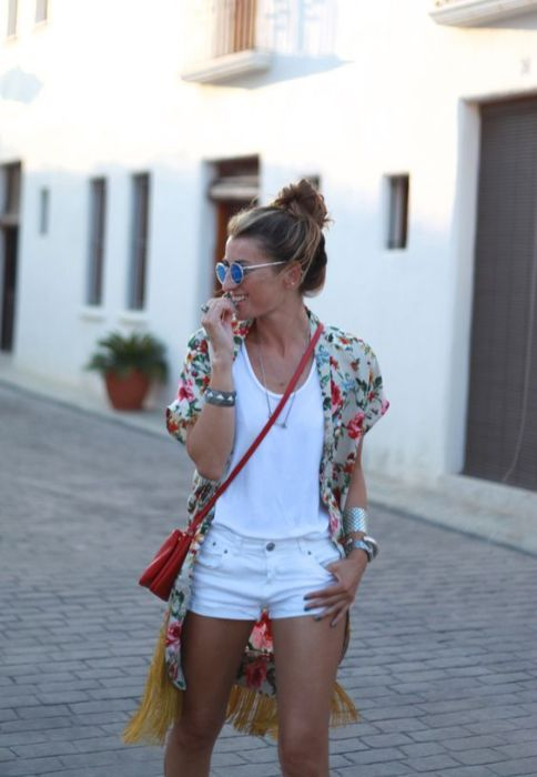 40 Hot pants Outfits for Perfect Summer Ideas 39