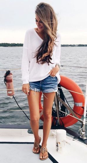 40 Hot pants Outfits for Perfect Summer Ideas 46