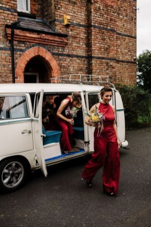 40 Jumpsuits Look for Bridemaids Ideas 15