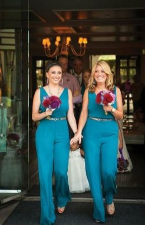 40 Jumpsuits Look for Bridemaids Ideas 18