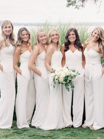40 Jumpsuits Look for Bridemaids Ideas 28