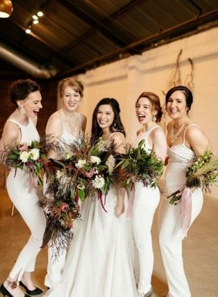 40 Jumpsuits Look for Bridemaids Ideas 37