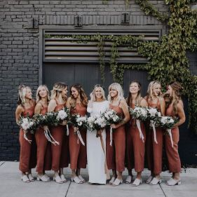 40 Jumpsuits Look for Bridemaids Ideas 45