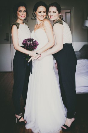 40 Jumpsuits Look for Bridemaids Ideas 46