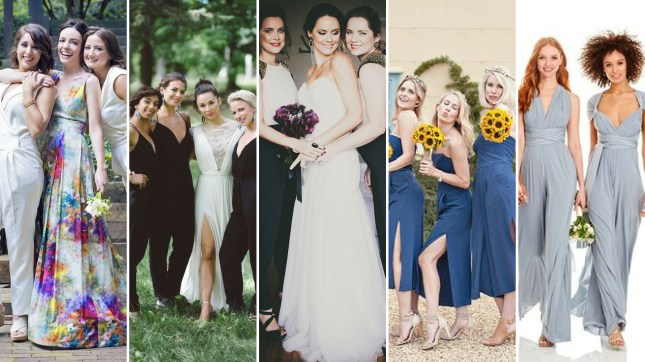 40 Jumpsuits Look for Bridemaids Ideas