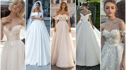 40 Off the Shoulder Wedding Dresses Ideas 1 1