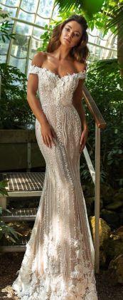 40 Off the Shoulder Wedding Dresses Ideas 10