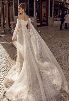 40 Off the Shoulder Wedding Dresses Ideas 36