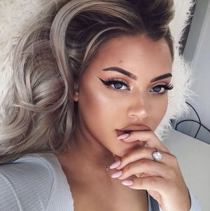 40 Simple Winged Eyeliner You Should to Copy 22
