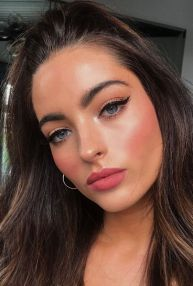 40 Simple Winged Eyeliner You Should to Copy 8