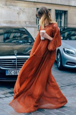 40 Stylish Orange Outfits Ideas 1