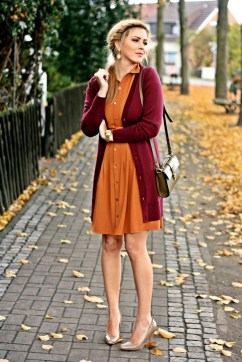 40 Stylish Orange Outfits Ideas 16
