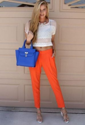 40 Stylish Orange Outfits Ideas 31