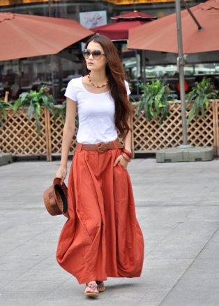 40 Stylish Orange Outfits Ideas 33