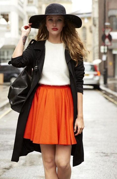 40 Stylish Orange Outfits Ideas 39
