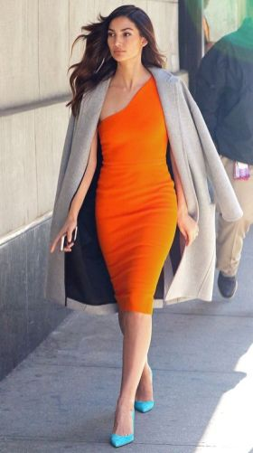 40 Stylish Orange Outfits Ideas 7