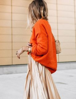 40 Stylish Orange Outfits Ideas 9