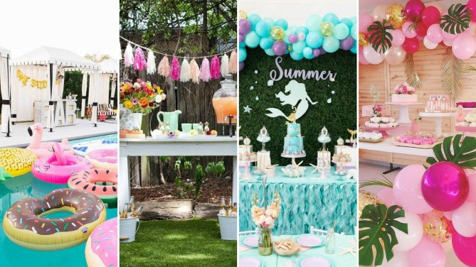 40 Summer Party Decoration Ideas