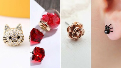 40 Tiny Lovely Stud Earrings Ideas