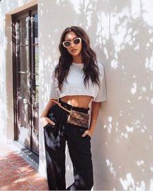 40 Ways to Wear Trendy Fanny Packs for Summer Ideas 32