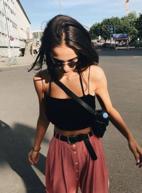 40 Ways to Wear Trendy Fanny Packs for Summer Ideas 34