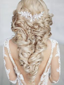 40 Wedding Hairstyles for Blonde Brides Ideas 10