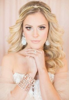 40 Wedding Hairstyles for Blonde Brides Ideas 14