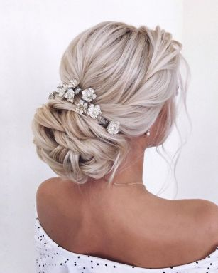 40 Wedding Hairstyles for Blonde Brides Ideas 19
