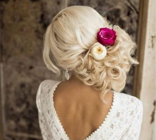 40 Wedding Hairstyles for Blonde Brides Ideas 21