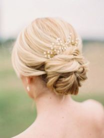 40 Wedding Hairstyles for Blonde Brides Ideas 24