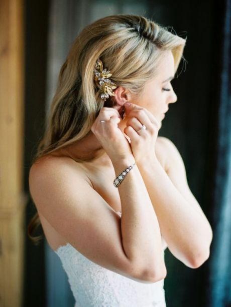 40 Wedding Hairstyles for Blonde Brides Ideas 38