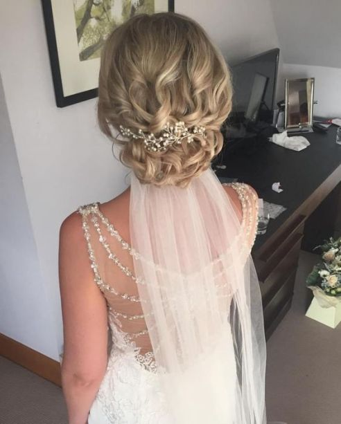 40 Wedding Hairstyles for Blonde Brides Ideas 39