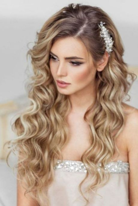 40 Wedding Hairstyles for Blonde Brides Ideas 45