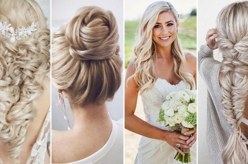 40 Wedding Hairstyles for Blonde Brides Ideas