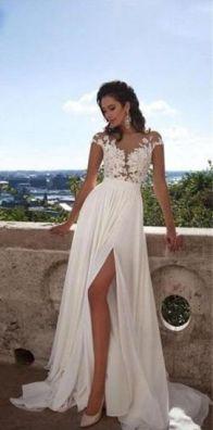 50 Bridal Dresses with Perfect Split Ideas 14