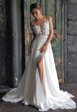 50 Bridal Dresses with Perfect Split Ideas 3 1