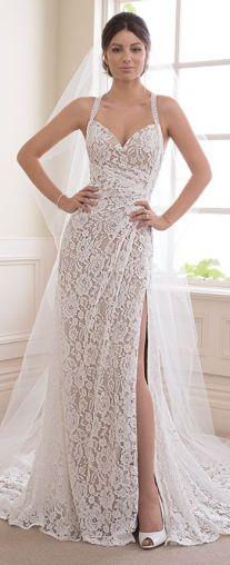 50 Bridal Dresses with Perfect Split Ideas 34 1