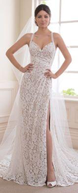 50 Bridal Dresses with Perfect Split Ideas 34