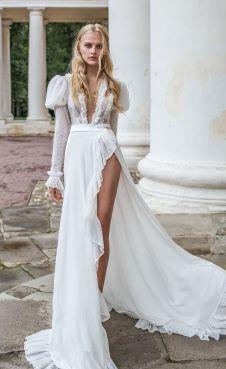 50 Bridal Dresses with Perfect Split Ideas 39 1