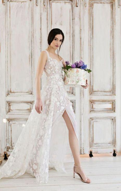 50 Bridal Dresses with Perfect Split Ideas 46 1