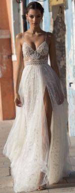 50 Bridal Dresses with Perfect Split Ideas 7 1