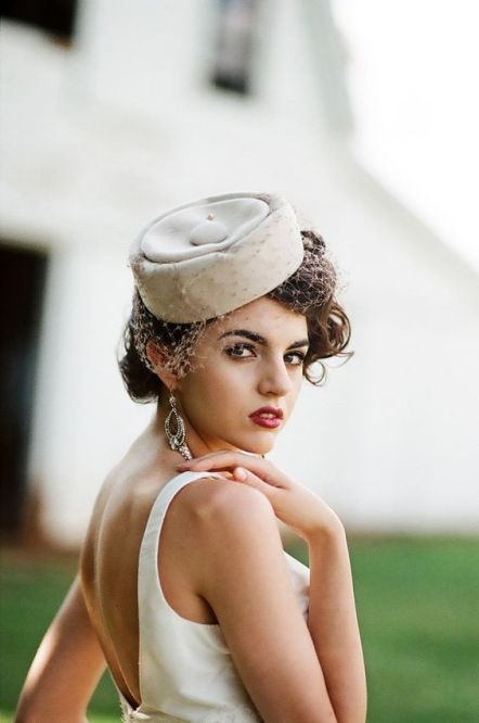 50 Bridal Hats You Will Love Ideas 6